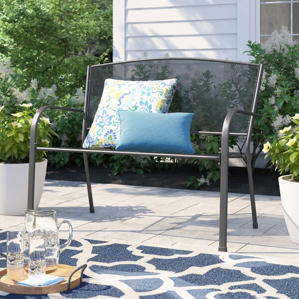 Morella Steel Garden Bench By Winston Porter by Winston Porter Looking for