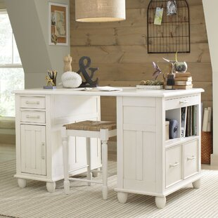 Madelynn Executive Desk by Alcott Hill