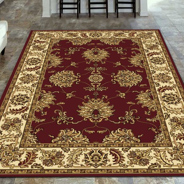 Juntura Burgundy Area Rug by The Conestoga Trading Co.