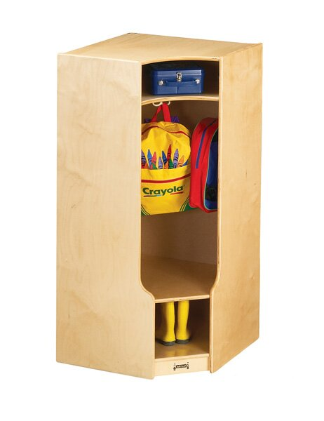KYDZ 1 Section Coat Locker by Jonti-CraftKYDZ 1 Section Coat Locker by Jonti-Craft