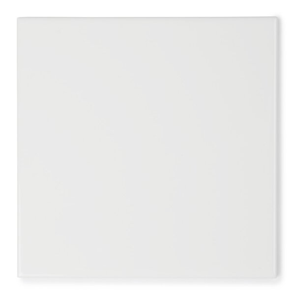 Value Series 4 x 4 Ceramic Field Tile in Bright Glossy White by WS Tiles