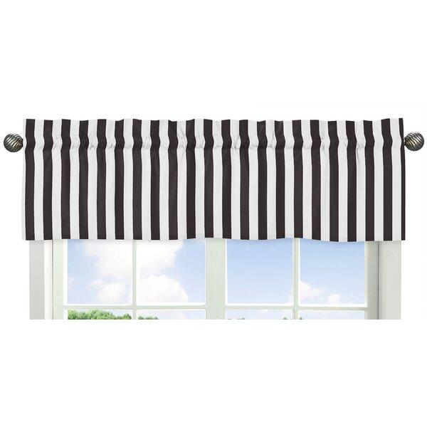 Paris Stripe 54 Window Valance by Sweet Jojo Designs