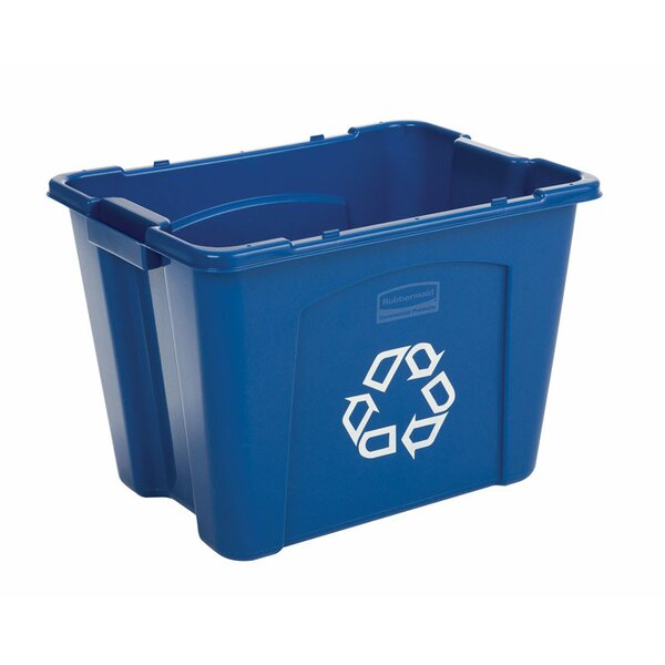 14 Gallon Recycling Bin by Rubbermaid Commercial Products