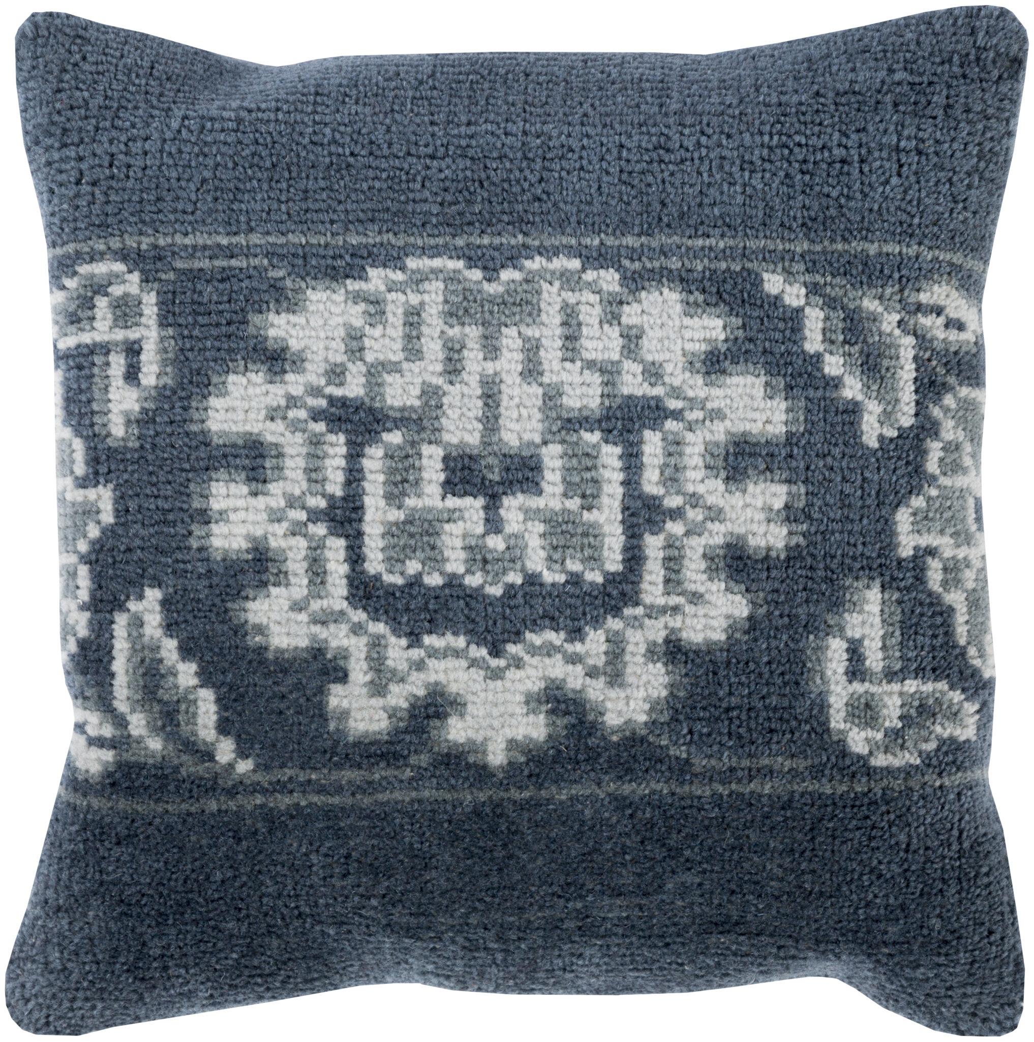 Darby Home Co Sharman Wool Throw Pillow Wayfair
