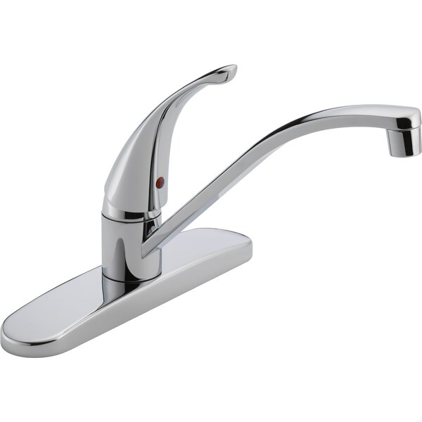 Single Handle Centerset Deck Mounting Kitchen Faucet by Peerless Faucets