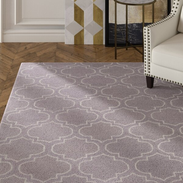 Shandi Hand-Tufted Gray Area Rug by Mercer41