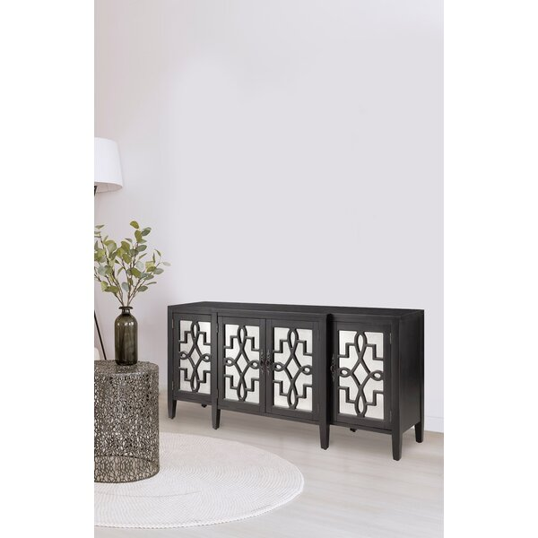 Bechtold Cabinet In Black By Ophelia & Co.