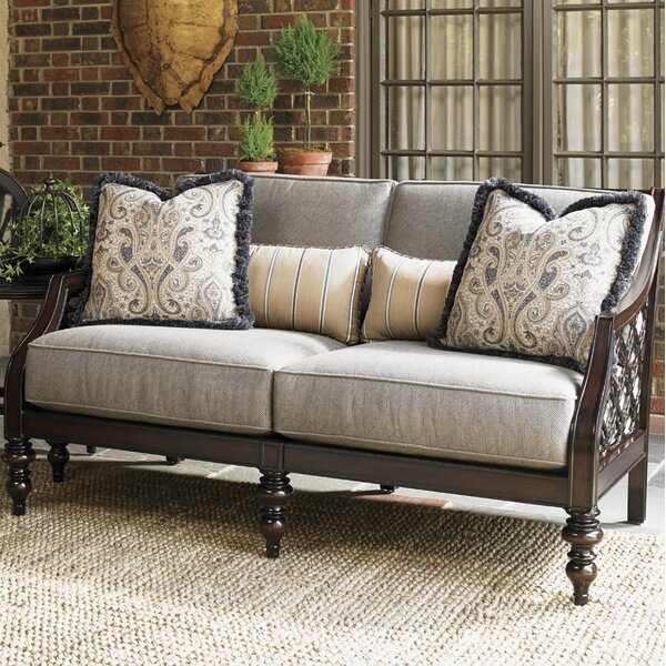 Sands Loveseat with Cushions by Tommy Bahama Outdoor