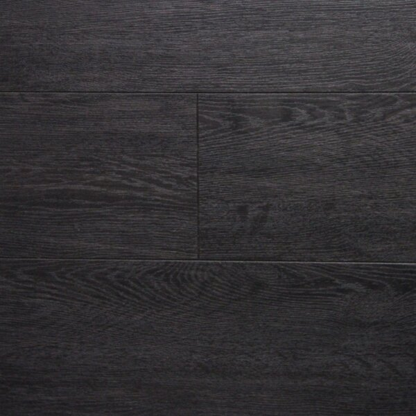 6 x 48 x 12.3mm  Laminate Flooring in Dark Wenge (Set of 3) by Serradon