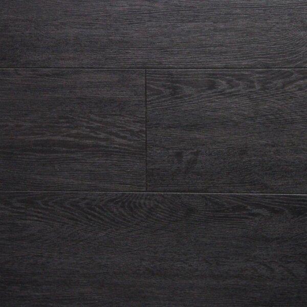 6 x 48 x 12.3mm  Laminate Flooring in Dark Wenge (Set of 3) by Serradon
