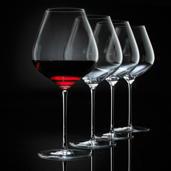 Fusion Air Red Wine Glass (Set of 4) by Wine Enthusiast