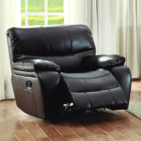 Beck Leather Recliner by Red Barrel Studio