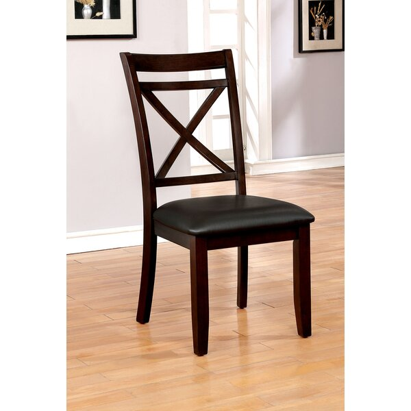 Haraway Upholstered Dining Chair (Set of 2) by Gracie Oaks