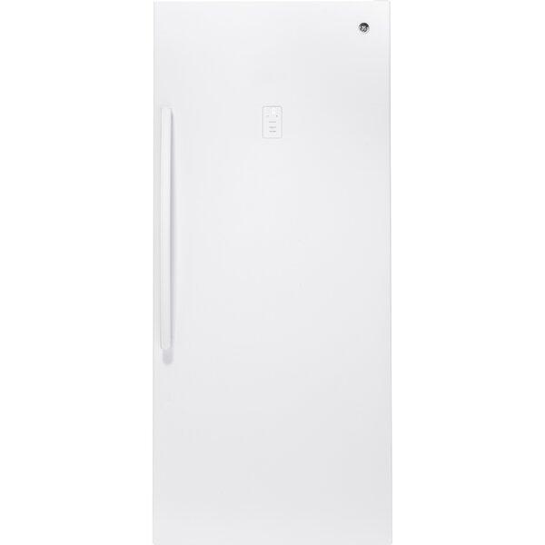 21.3 cu. ft. Frost-Free Upright Freezer by GE Appliances