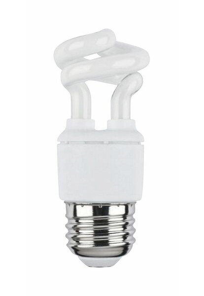 5W E26 Compact Fluorescent Spiral Light Bulb by Westinghouse Lighting