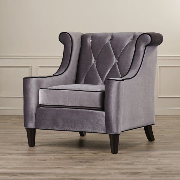 Carressa Wingback Chair by Willa Arlo Interiors Willa Arlo Interiors