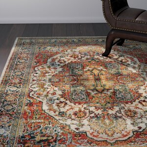 Knox Red Area Rug