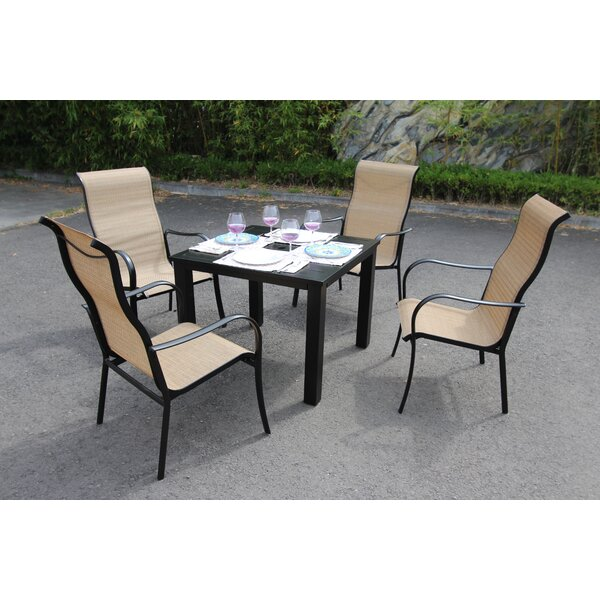 Herald 5 Piece Dining Set by Latitude Run