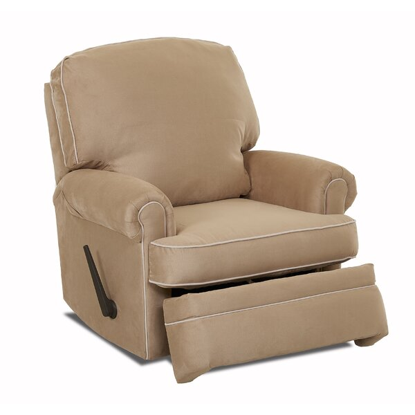 Dauphin Swivel Gliding Recliner by Darby Home Co