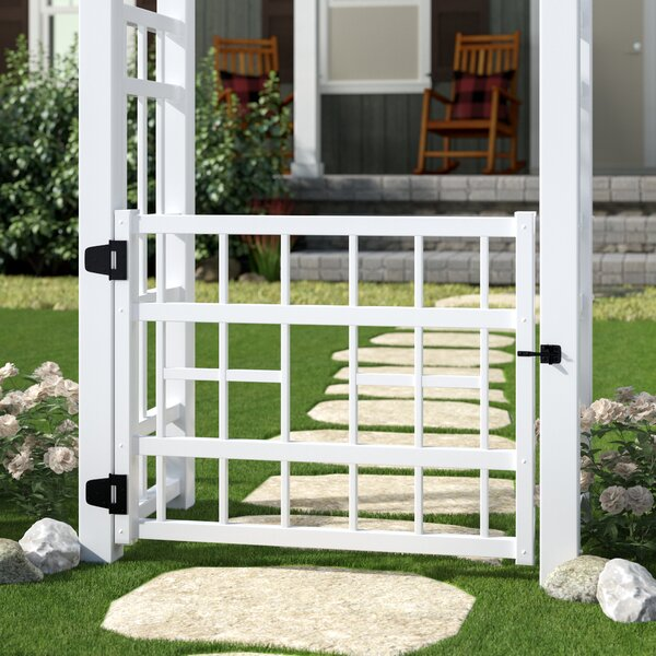 Gregoire Vinyl Gate by August Grove