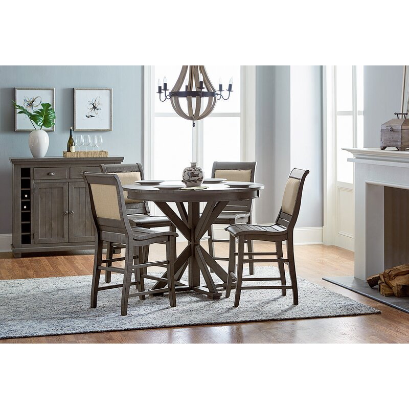 Magnificent Epine Round Counter Height Dining Table Gmtry Best Dining Table And Chair Ideas Images Gmtryco