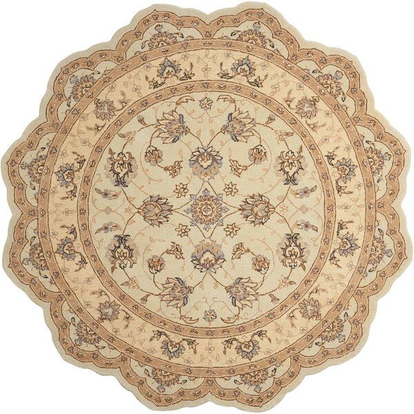 Lundeen Cream Area Rug by Astoria Grand