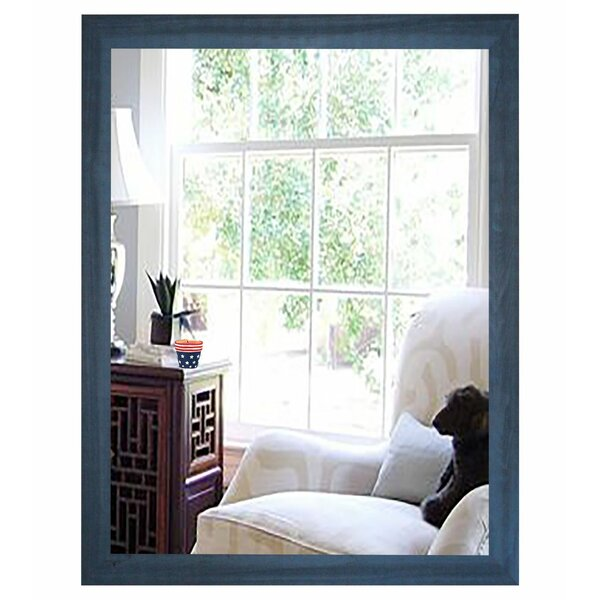Rectangle Cottage Framed Wall Mirror by Rosecliff Heights