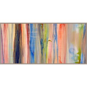 Rain Drips Giclée Framed Painting Print by PTM Images
