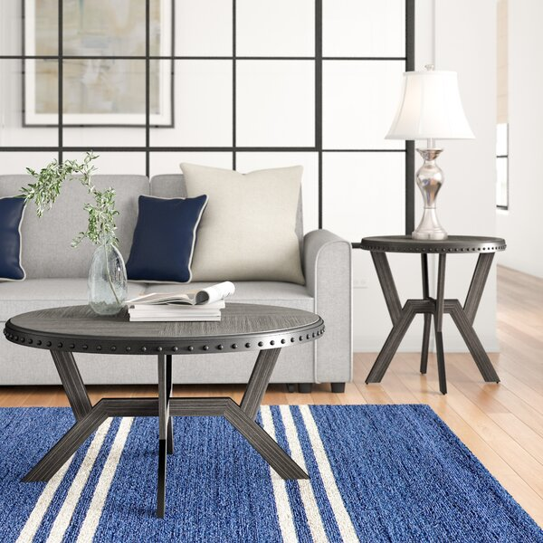 Bairoil 2 Piece Coffee Table Set by Three Posts Three Posts