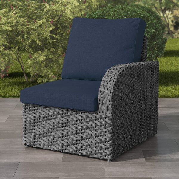 Killingworth Patio Chair with Cushions by Rosecliff Heights