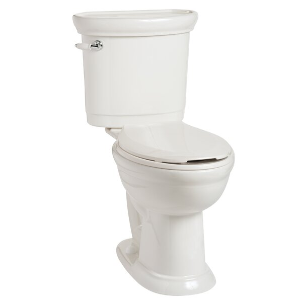 Waverly 1.28 GPF Elongated Two-Piece Toilet by Mansfield Plumbing Products