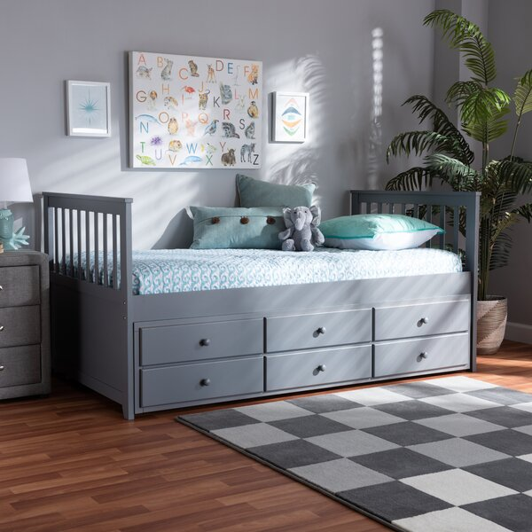 Lomba Twin Daybed With Trundle By Highland Dunes