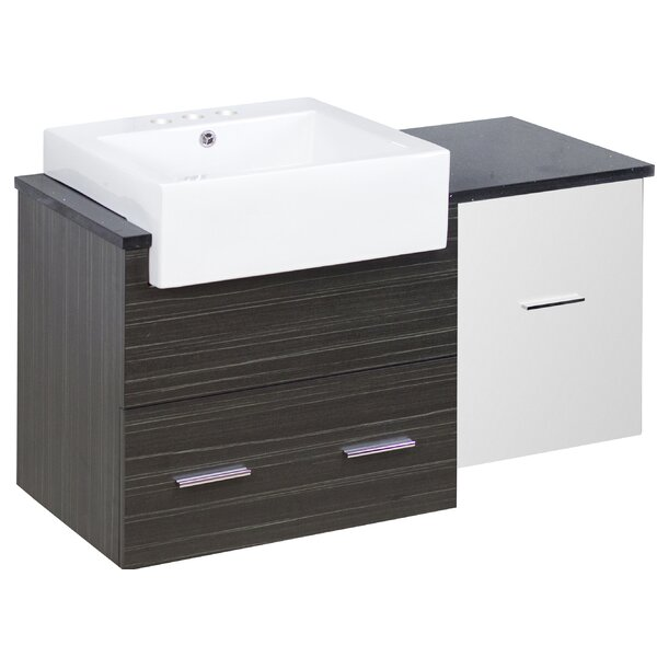 Batley 37 Single Bathroom Vanity Set by Orren Ellis