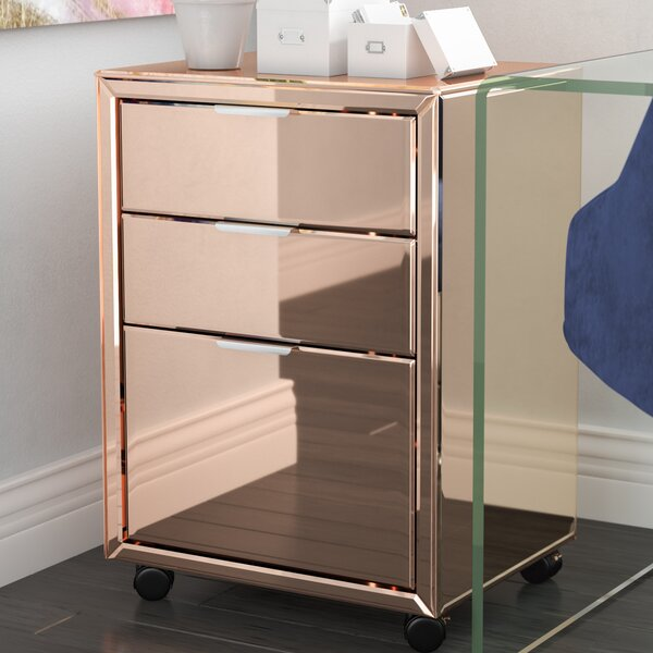 Khadar 3-Drawer Vertical File by Willa Arlo Interiors