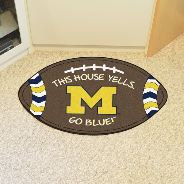 NCAA Michigan Southern Football Doormat by FANMATS