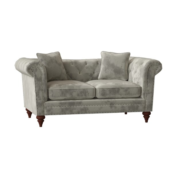 Downsview Chesterfield Loveseat by Craftmaster