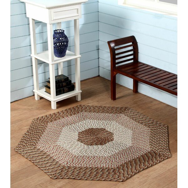 McClure Straw Stripe Area Rug by August Grove