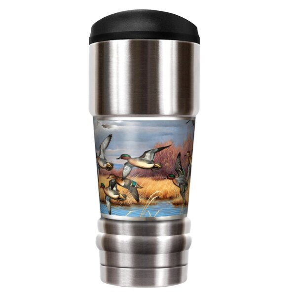 Flying Ducks Traditions 18 oz. Stainless Steel Travel Tumbler by Great American Products