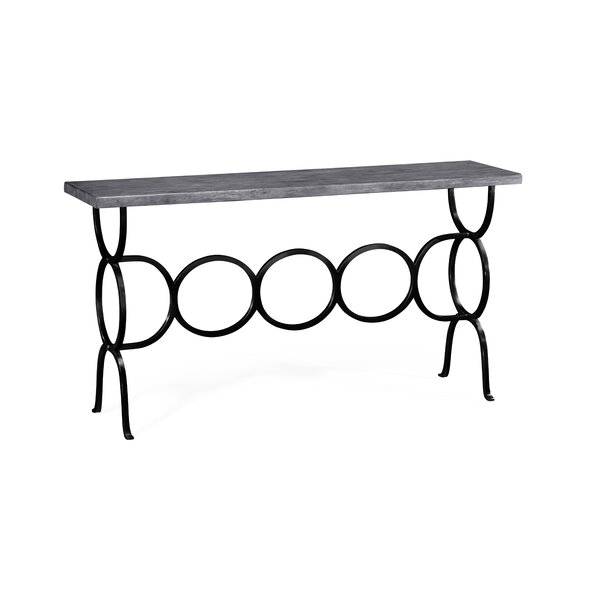 Round Console Table By Jonathan Charles Fine Furniture