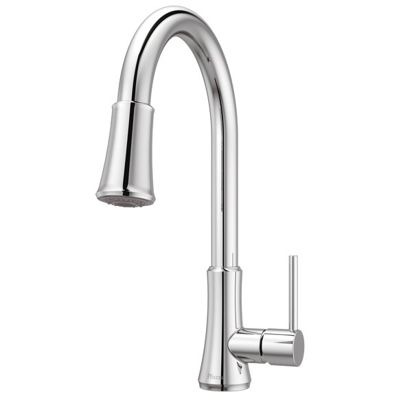 Pfister Pfirst Series Pull Down Touch Single Handle Kitchen Faucet By Pfister
