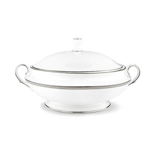 Murray Hill 64 oz. Covered Vegetable Bowl by Lenox