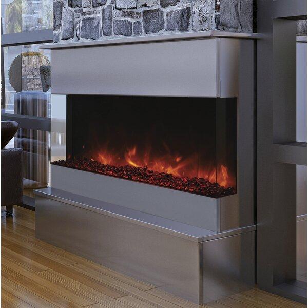 Attridge Wall Mounted Electric Fireplace by Orren Ellis Orren Ellis
