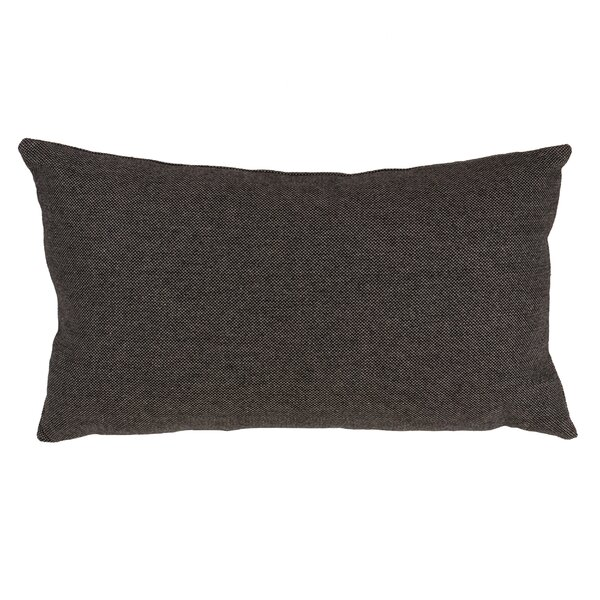 Halstead Herringbone Design Lumbar Pillow by Williston Forge