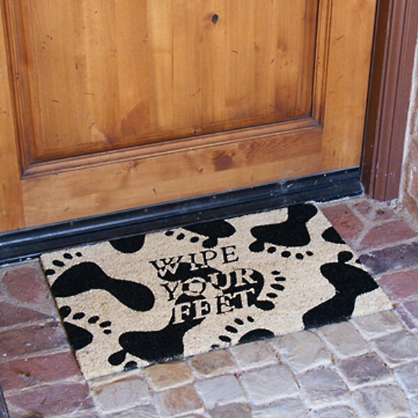 Wipe Your Feet, Please Doormat by Rubber-Cal, Inc.