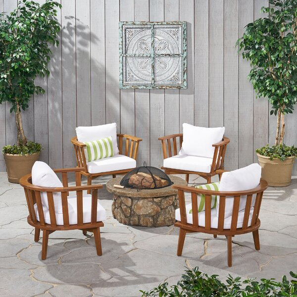 5 Peice Seating Group with Cushions