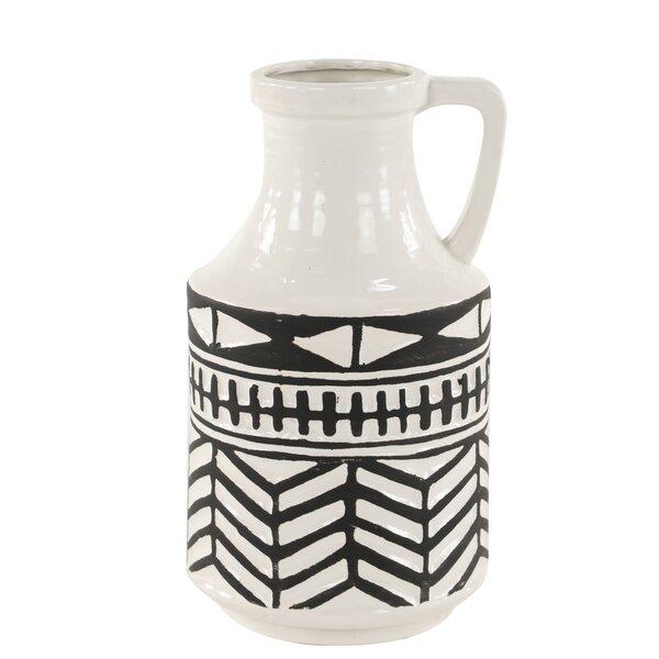 Dobbs Waterproof Ceramic Table Vase by Union Rustic