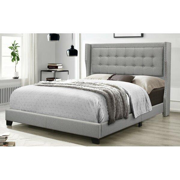 Keya Upholstered Standard Bed by Charlton Home
