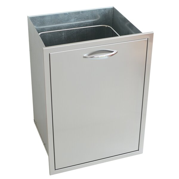 Outdoor Kitchen Trash Tank Cabinet by Kokomo Grills