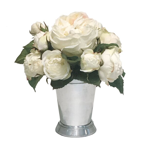 Mix Rose Centerpiece in Julep Cup by Darby Home Co