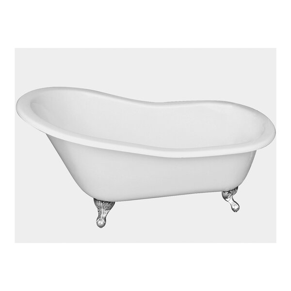 61 x 31 Freestanding Soaking Bathtub by Cahaba Classics